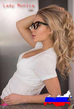 escort russe Lady monica