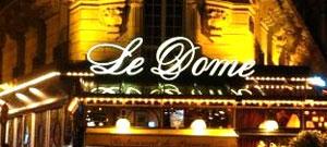 Café du Dôme un lieu parfait pour inviter une escort du 14e arrdt de Paris