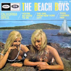 La pochette du disque California-girls