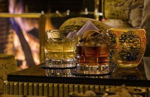 Le bar du Bristol ambiance chic