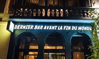 Le Dernier Bar Avant La Fin Du Monde, vous pouvez boire et profiter d'un concert