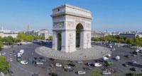 La Place Charles de Gaulle Étoile un endroit bien placé pour un rendez-vous avec une escort girl